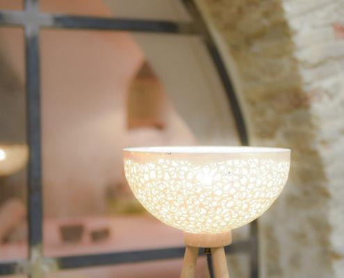 Lampadaire ceramique